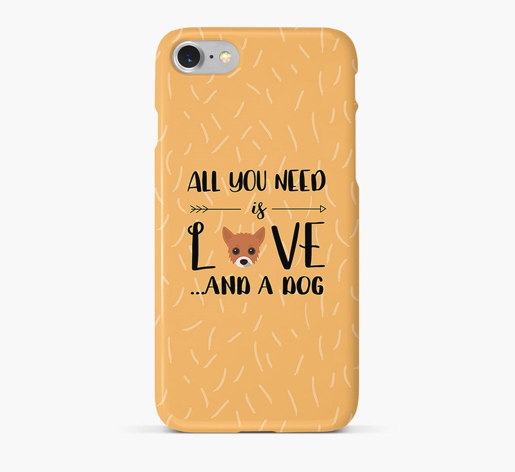 'All You Need is Love' Phone Case with Chipoo Icon