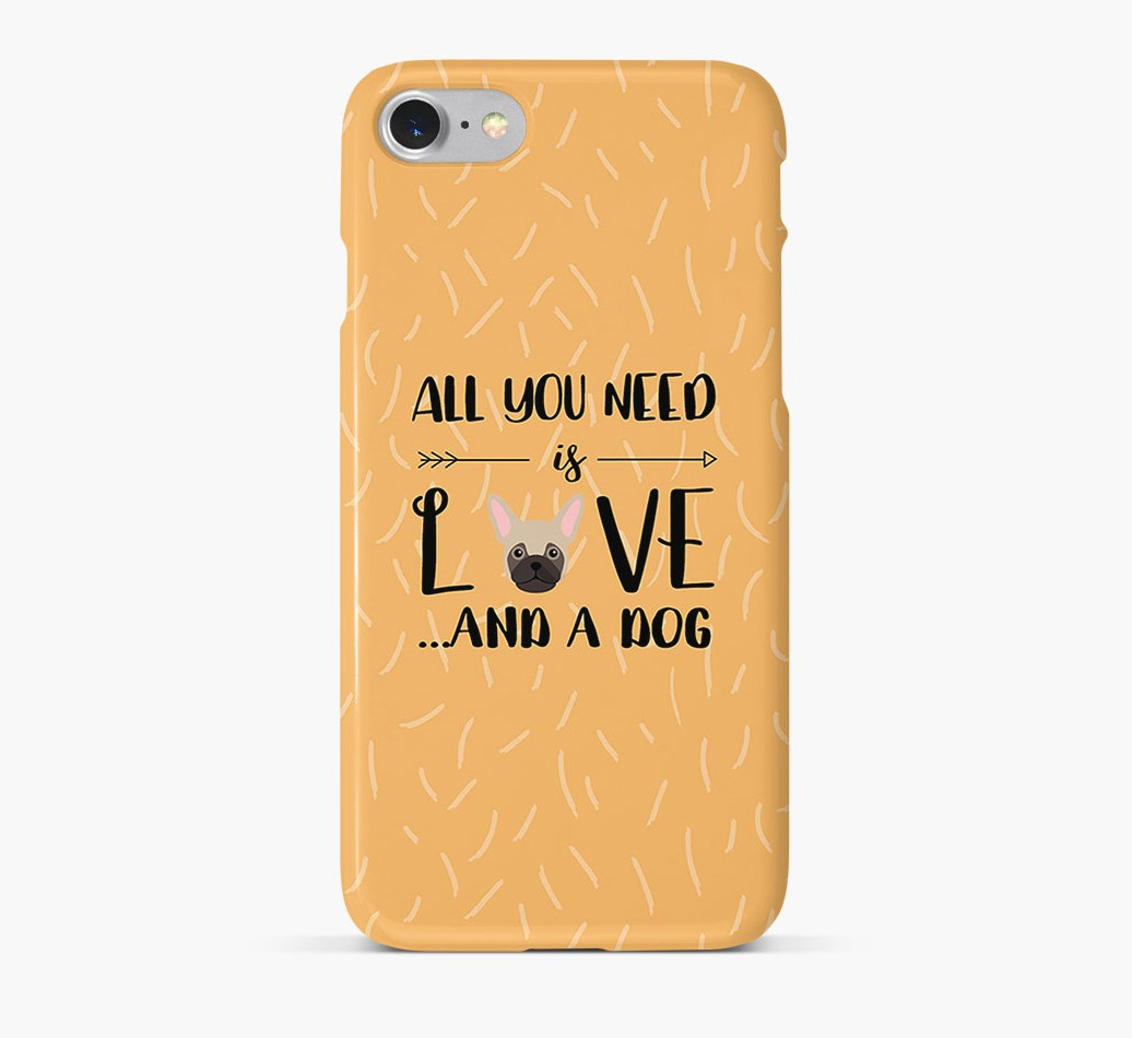 'All You Need is Love' Phone Case with Frug Icon