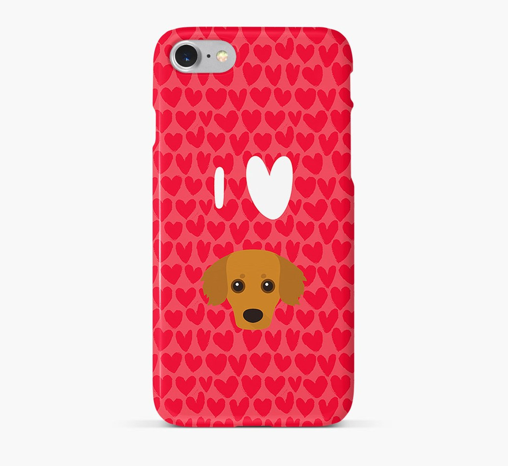 'I Heart {dogsName}' Phone Case with Kokoni Icon