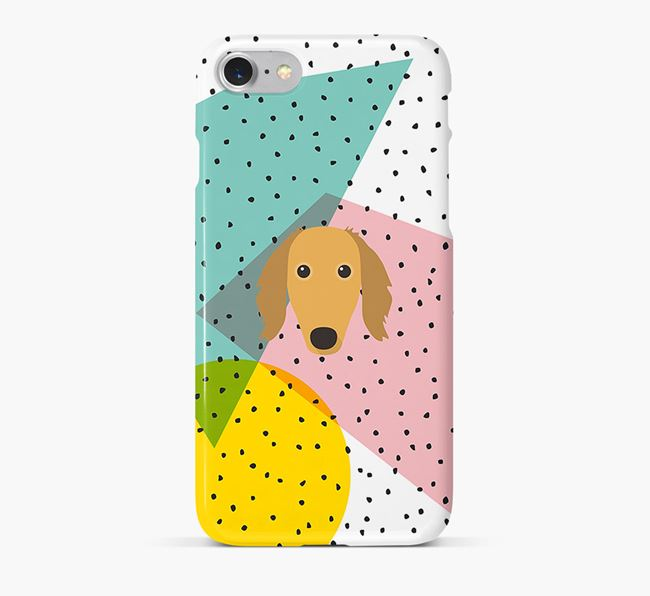 'Geometric' Phone Case with Saluki Icon