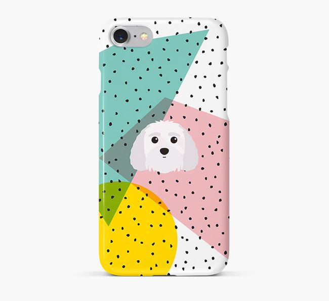 'Geometric' Phone Case with Terri-Poo Icon