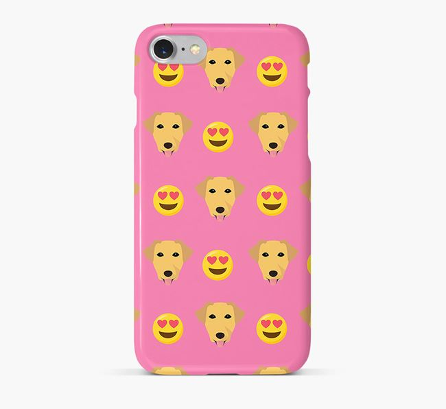 'Heart Eyes' Pattern Phone Case with Borador Icon
