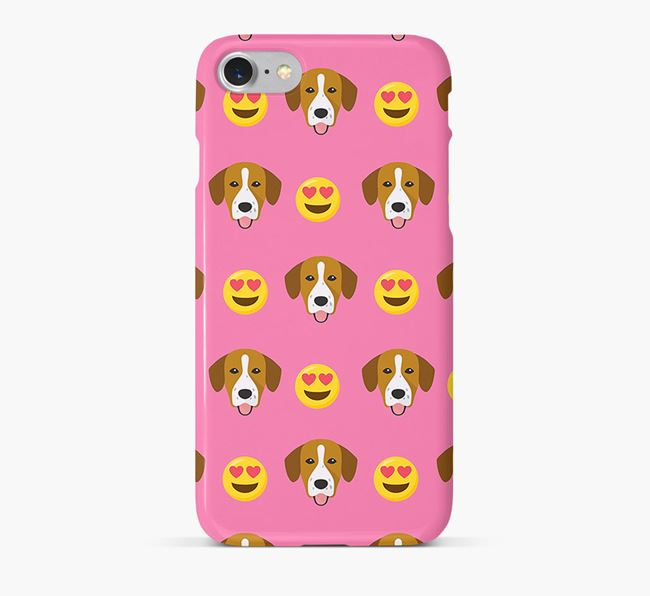 'Heart Eyes' Pattern Phone Case with Springador Icon