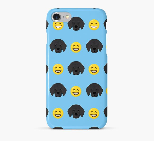 'Smile' Pattern Phone Case with Bassugg Icon