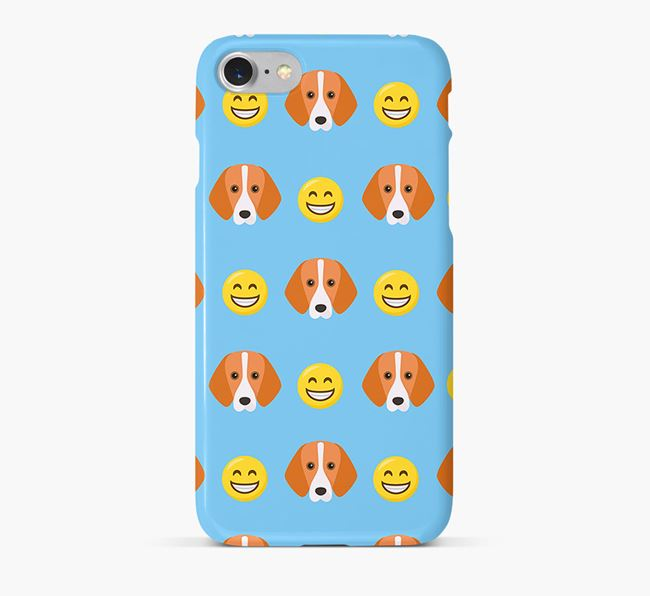 'Smile' Pattern Phone Case with Foxhound Icon
