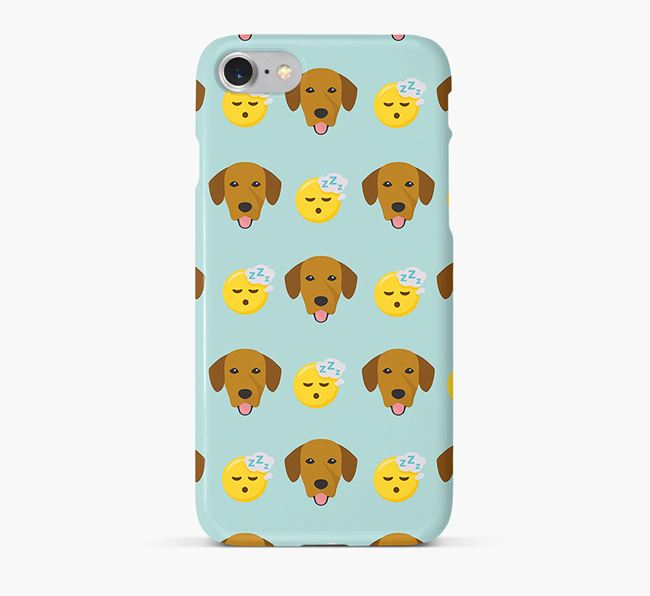 'Tired' Pattern Phone Case with Springador Icon