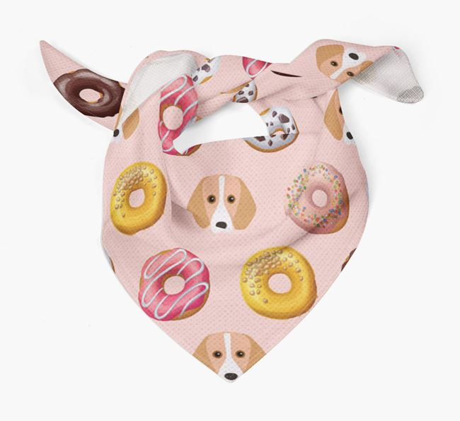 Donuts Bandana with Harrier Icons