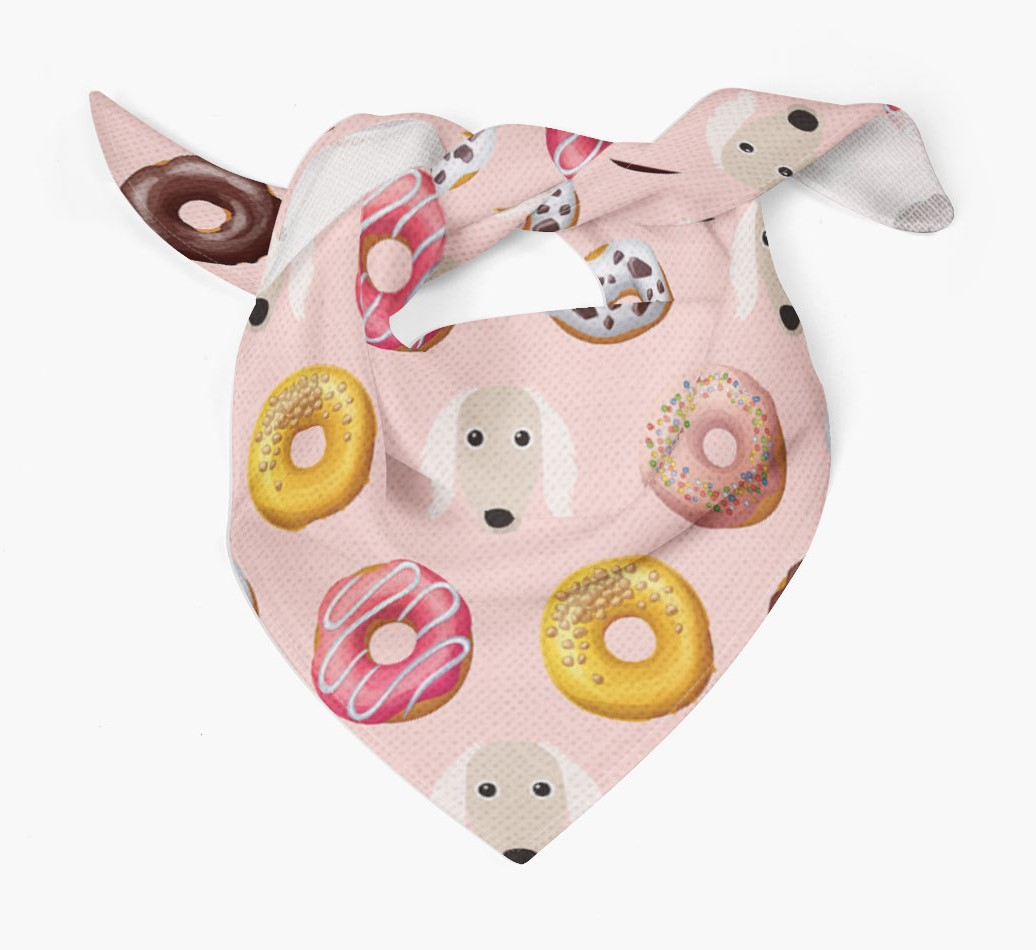 Donuts Bandana with Saluki Icons