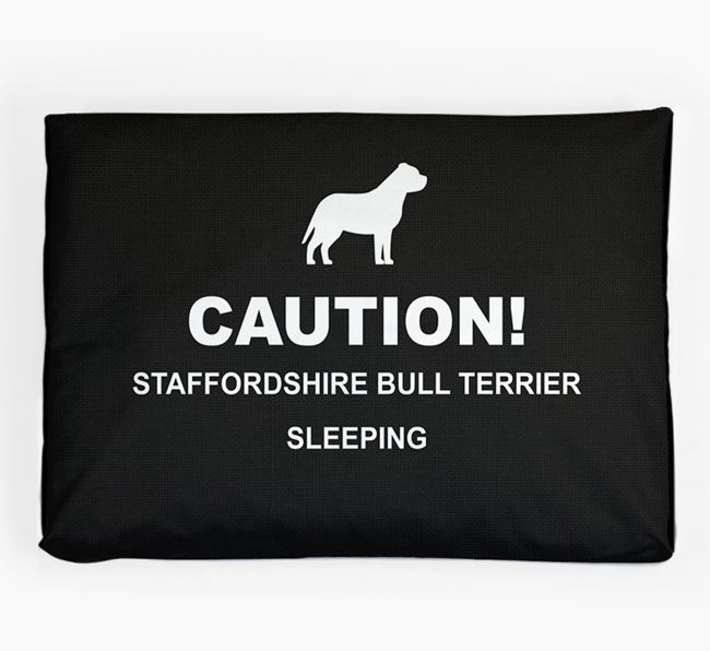 'Caution!' Dog Bed for your Dog