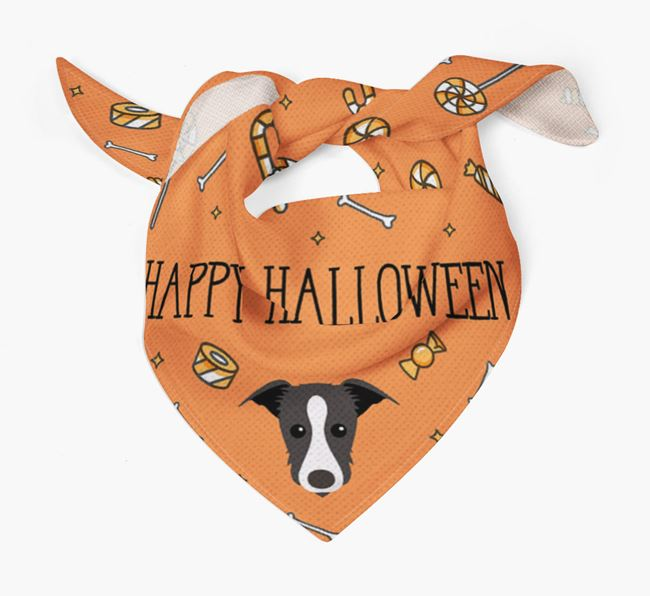 'Happy Halloween' Bandana for your Lurcher