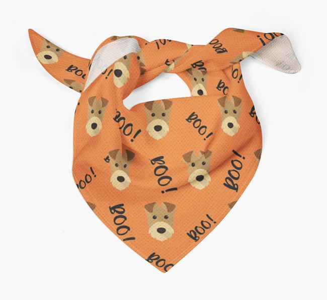 'Boo!' Bandana for your Airedale Terrier