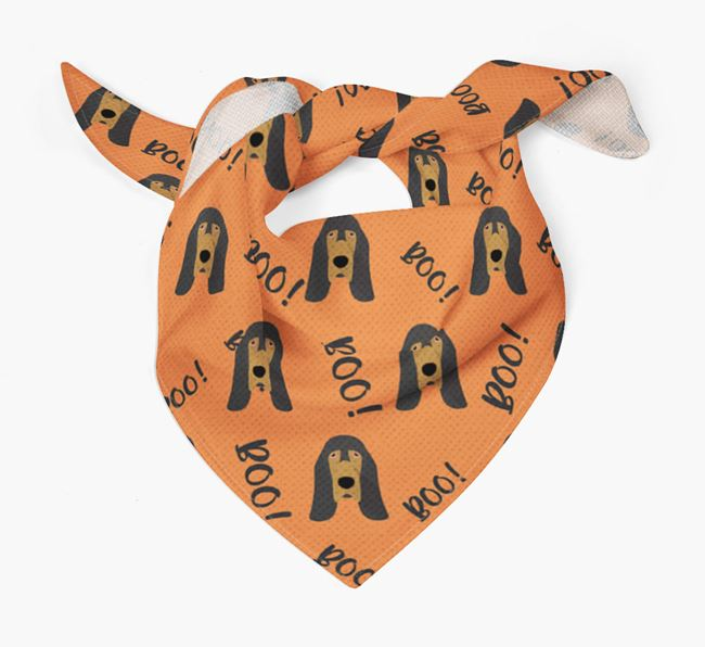 'Boo!' Bandana for your Bloodhound