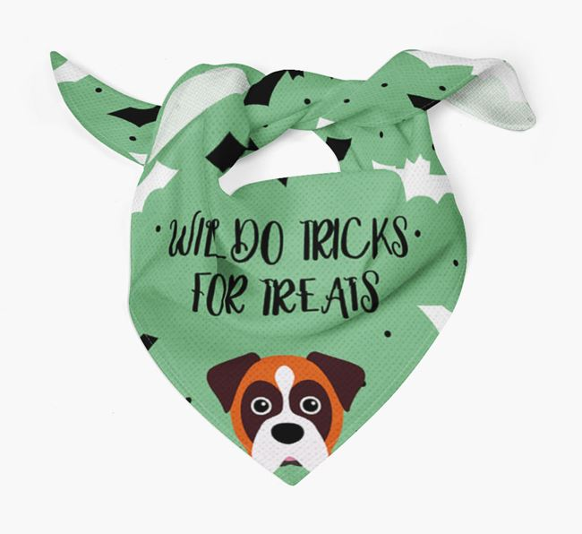 'Tricks for Treats' Bandana for your Dog