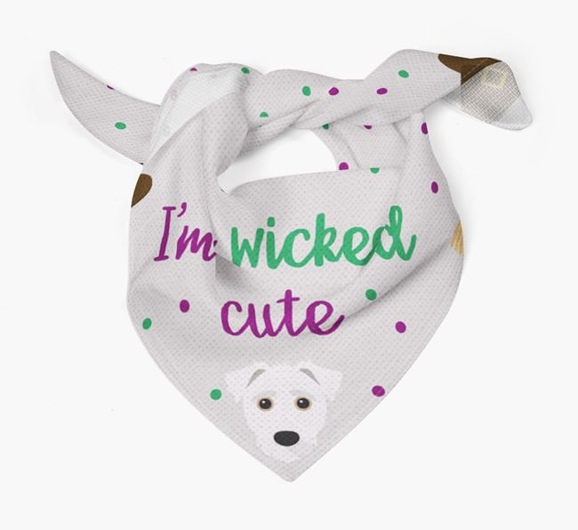 'I'm Wicked Cute' Bandana for your Jack-A-Poo