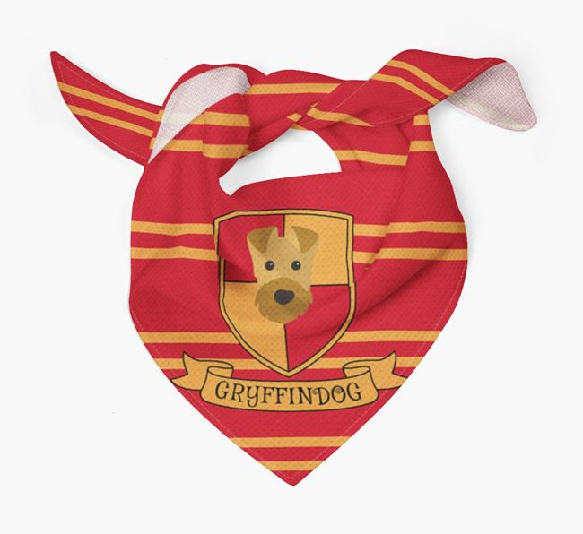 'Harry Pawter' Bandana for your Airedale Terrier