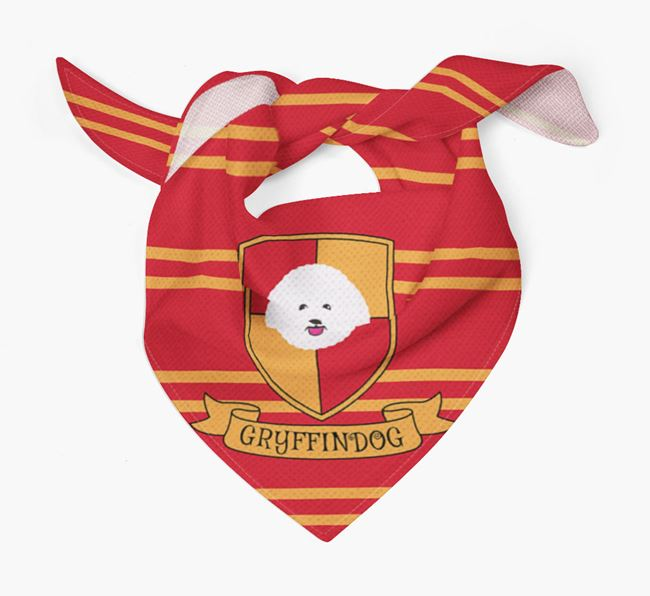'Harry Pawter' Bandana for your Bichon Frise