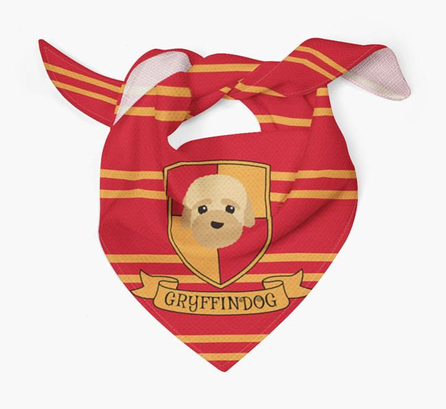 'Harry Pawter' Bandana for your Bich-poo