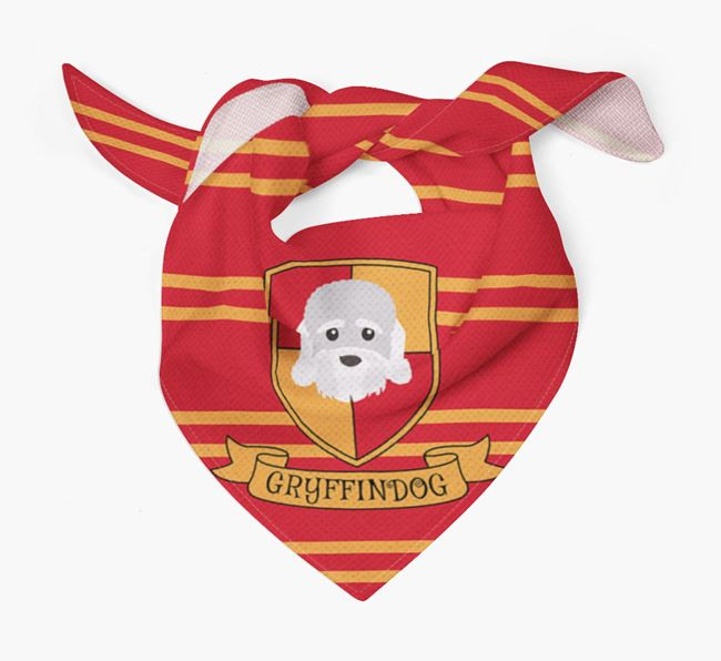 'Harry Pawter' Bandana for your Dandie Dinmont Terrier