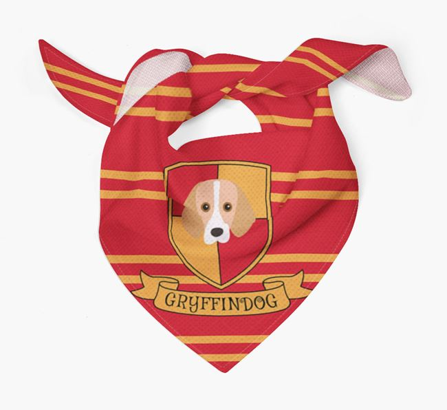'Harry Pawter' Bandana for your Foxhound