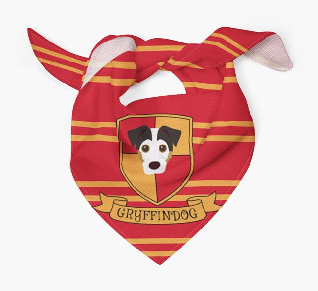 'Harry Pawter' Bandana for your Jack Russell Terrier
