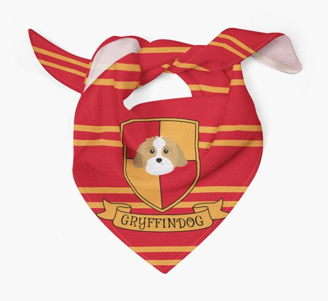 'Harry Pawter' Bandana for your Lhasa Apso