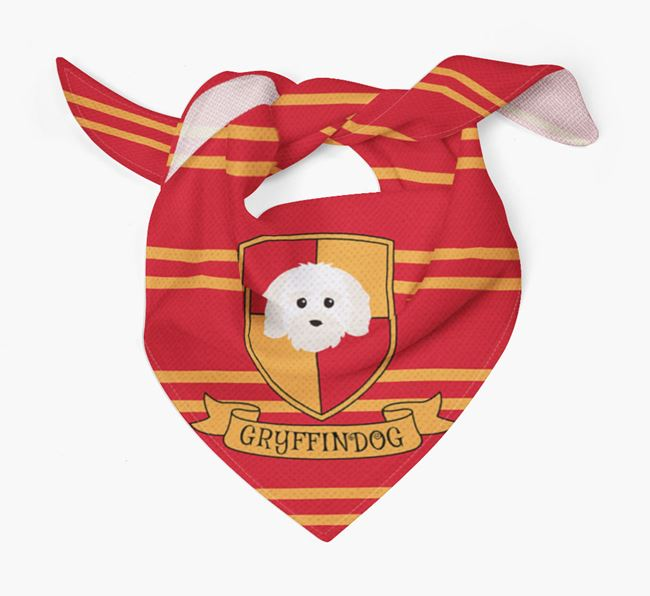 'Harry Pawter' Bandana for your Maltichon