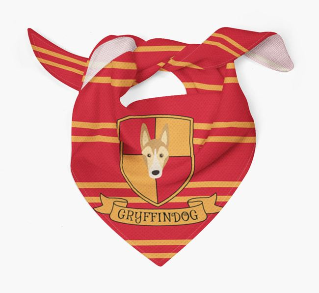 'Harry Pawter' Bandana for your Smooth Collie