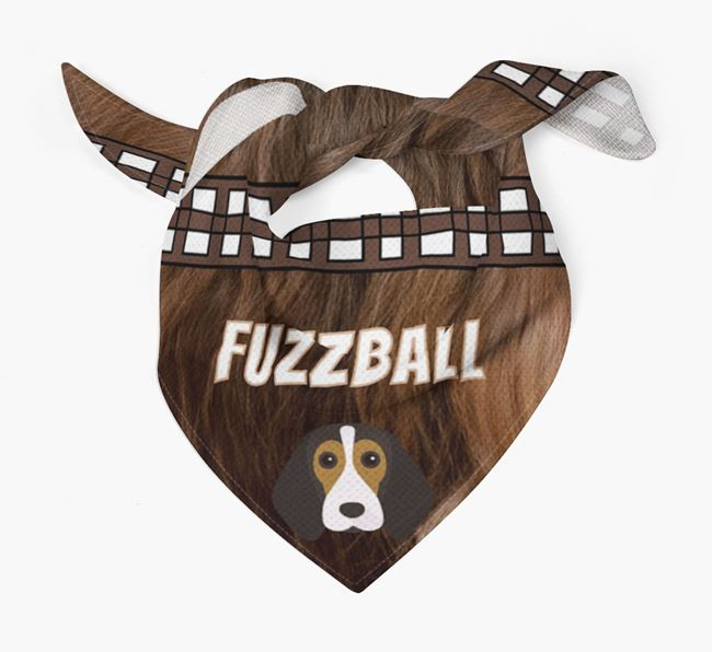 'Fuzzball' Bandana for your Beagle