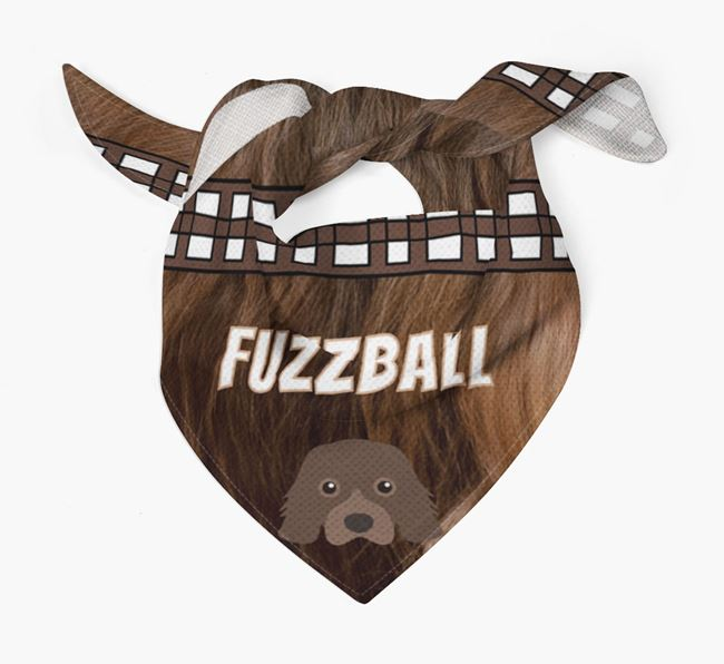 'Fuzzball' Bandana for your Cavalier King Charles Spaniel