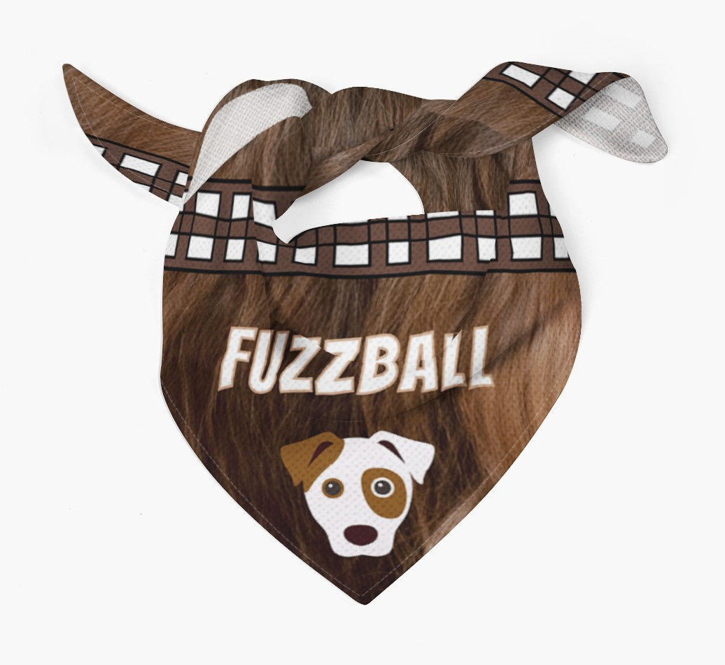 'Fuzzball' Bandana for your Dog