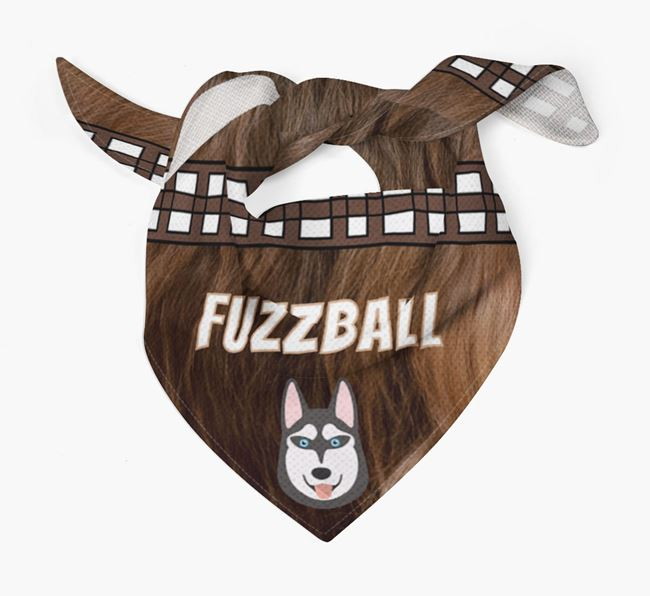 'Fuzzball' Bandana for your Siberian Husky