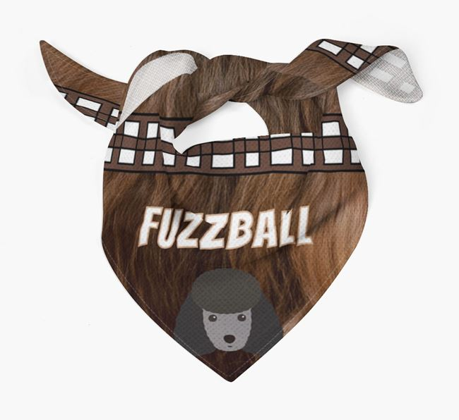 'Fuzzball' Bandana for your Toy Poodle