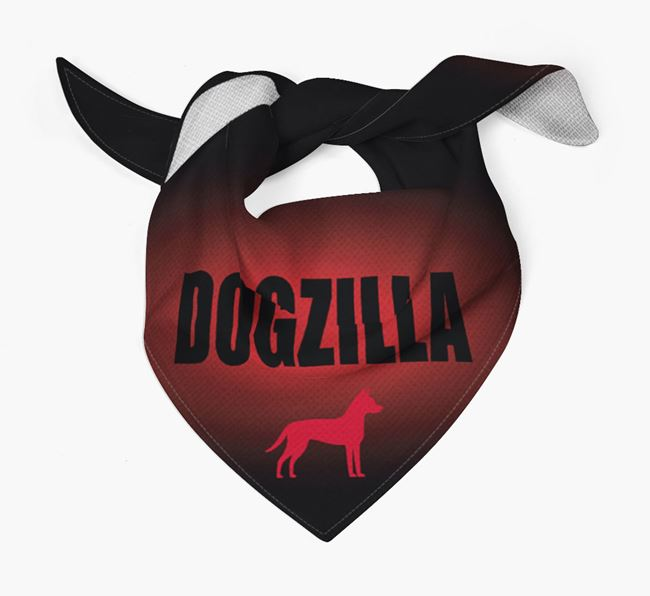 'Dogzilla' Bandana for your Dog