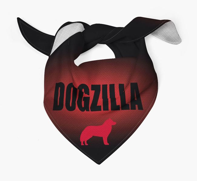 'Dogzilla' Bandana for your Siberian Husky