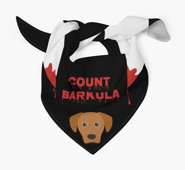'Count Barkula' Bandana for your Blue Lacy