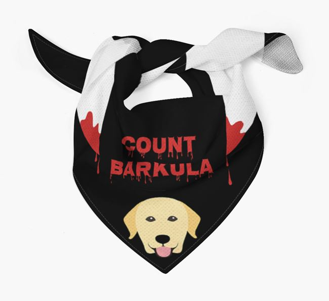 'Count Barkula' Bandana for your Dog