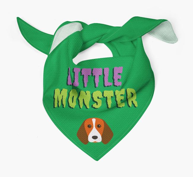 'Little Monster' Bandana for your Beagle