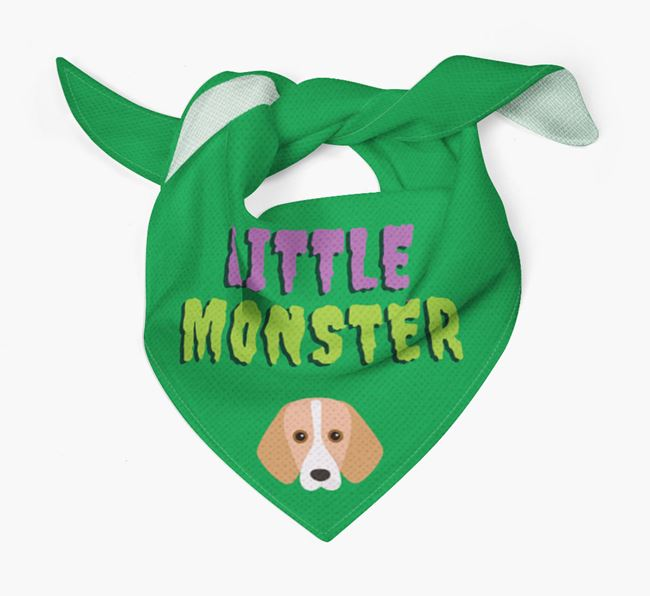 'Little Monster' Bandana for your Foxhound