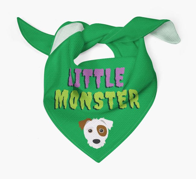 'Little Monster' Bandana for your Jack-A-Poo
