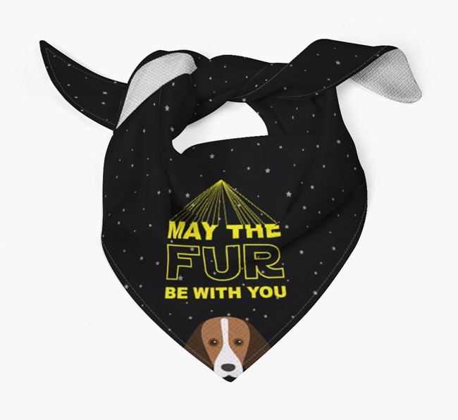 'May The Fur Be With You' Bandana for your Foxhound