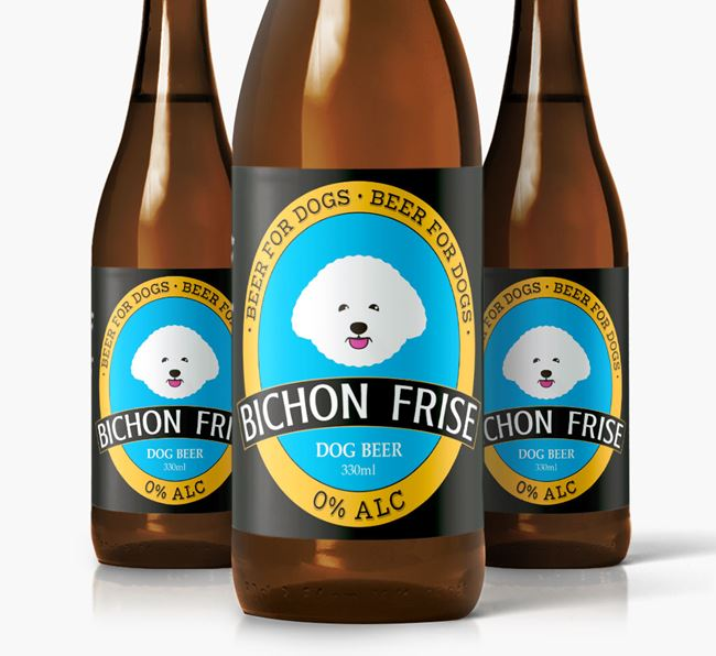 Bichon Frise Dog Beer