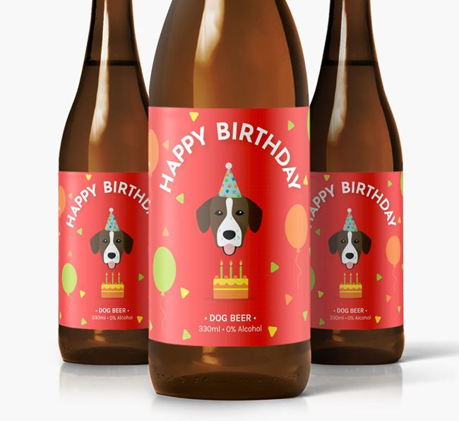 Springador Birthday Dog Beer