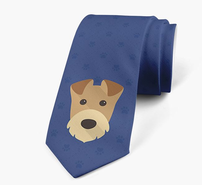 Human Tie with Airedale Terrier Yappicon
