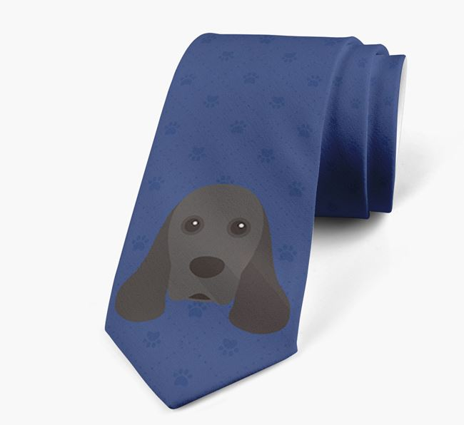 Human Tie with American Cocker Spaniel Yappicon
