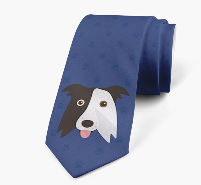 Human Tie with Border Collie Yappicon