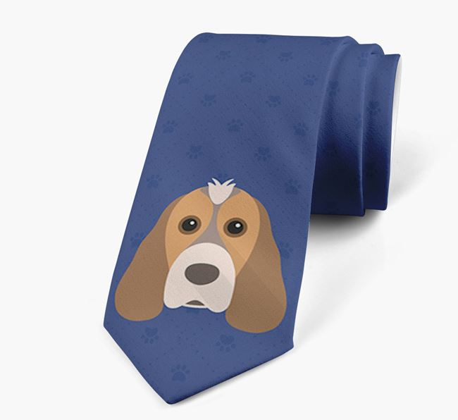 Human Tie with Cocker Spaniel Yappicon