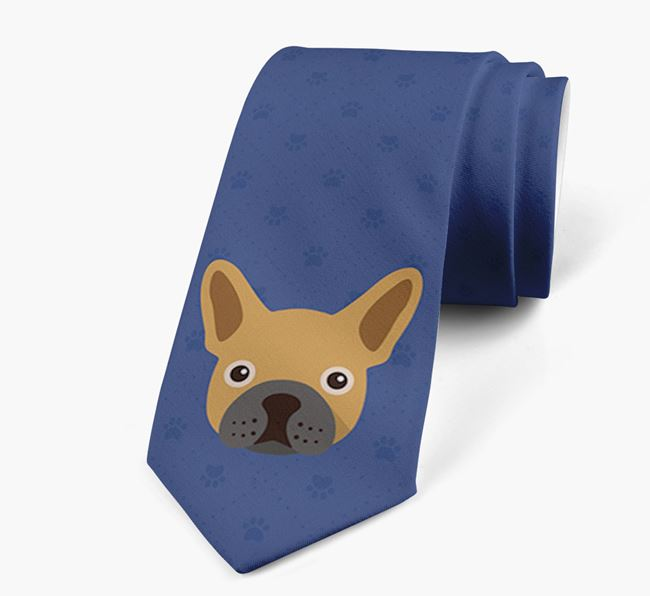 Human Tie with French Bulldog Yappicon