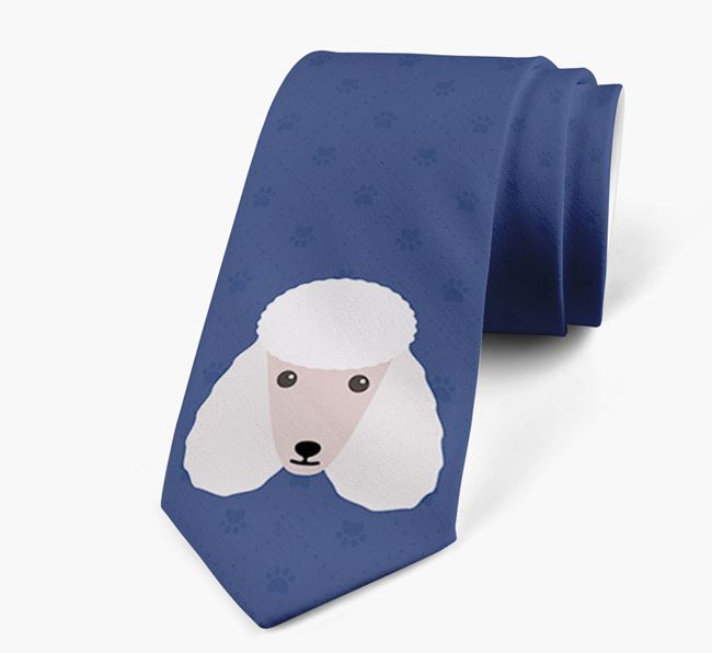 Human Tie with Poodle Yappicon