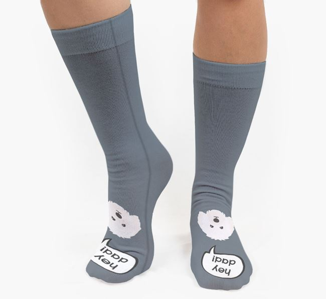'Hey Dad!' Socks with Bolognese Icon