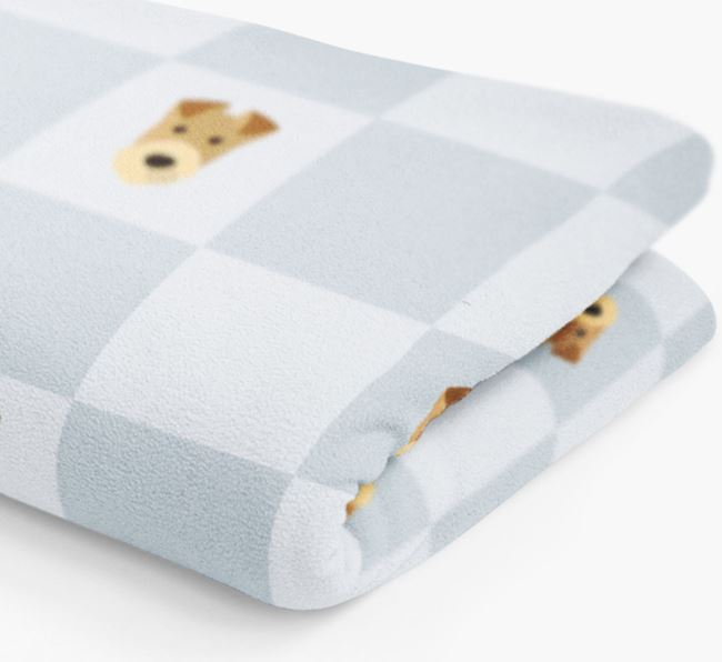 Airedale Terrier Dog Blanket